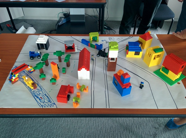 village-scrum-lego
